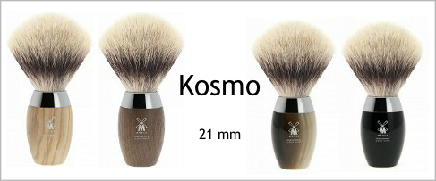 Mühle Kosmo Silvertip Fibre Shaving Brushes