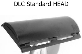 iKon DLC Standard Closed Comb Stainless Steel Safety Razor HEAD