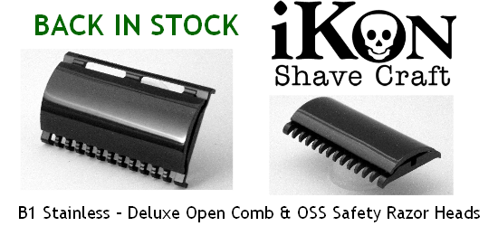iKon Safety Razors & Accessories