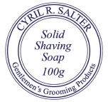 Cyril R Salter Solid Shaving Soap Refill 100g