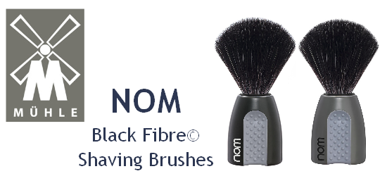 Mühle Black Fibre Shaving Brushes