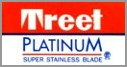 Treet Platinum Super Stainless Double Edge Razor Blades