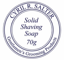 Cyril R Salter Solid Shaving Soap Refill 70g
