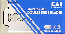 KAI Stainless Steel Double Edge