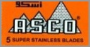 ASCO (orange) Super Stainless Double Edge Razor Blades