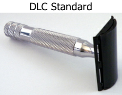 iKon DLC Standard Closed Comb Stainless Steel Safety Razor