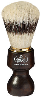 OMEGA 11126 Pure Bristle Shaving Brush