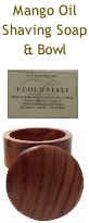 Atkinson I Coloniali Shaving Cream Soap & Dark Oak Bowl 100 ml