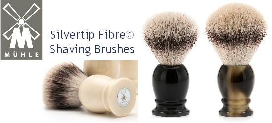 Mühle Silvertip Fibre Shaving Brushes
