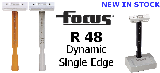 Focus R 48 Dynamic Single Edge Safety Razor