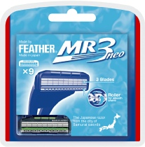 Feather MR3 Cartidge Razor Blades
