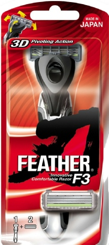 Feather F3 Cartridge Razor